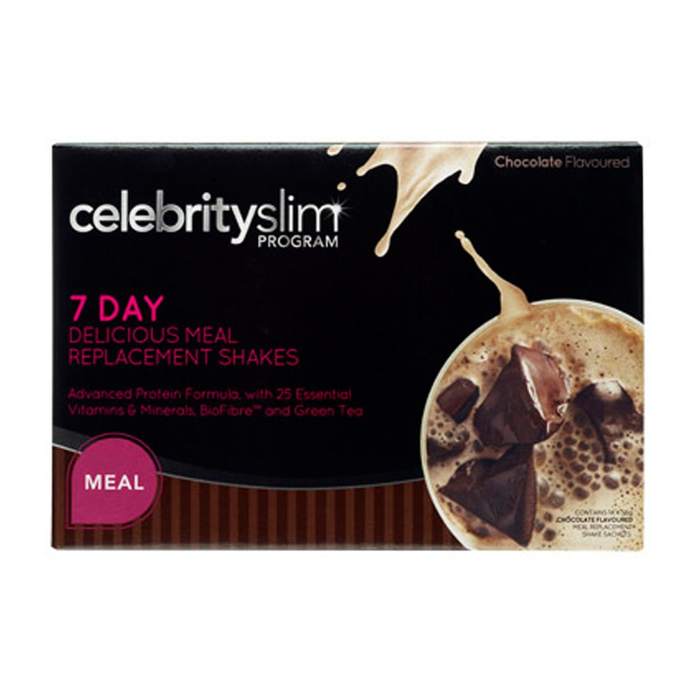 Celebrity Slim Meal Replacement Chocolate (7 Day)